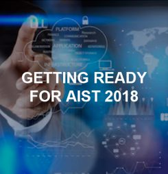 Getting ready for AIST 2018