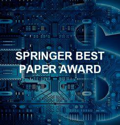 SPRINGER BEST PAPER AWARD