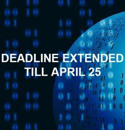 Deadline extended till April 25